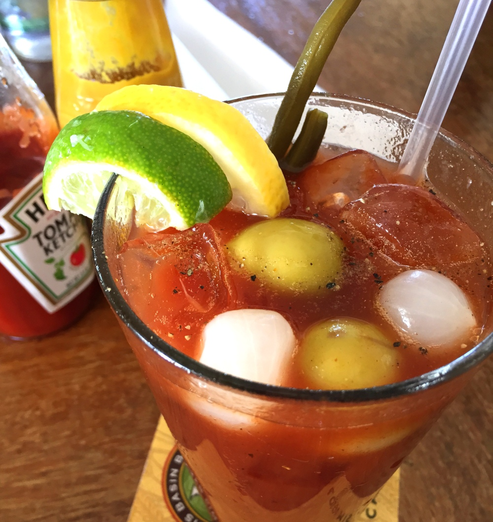 Sugar Bowl Hotel Bar's Bloody Mary