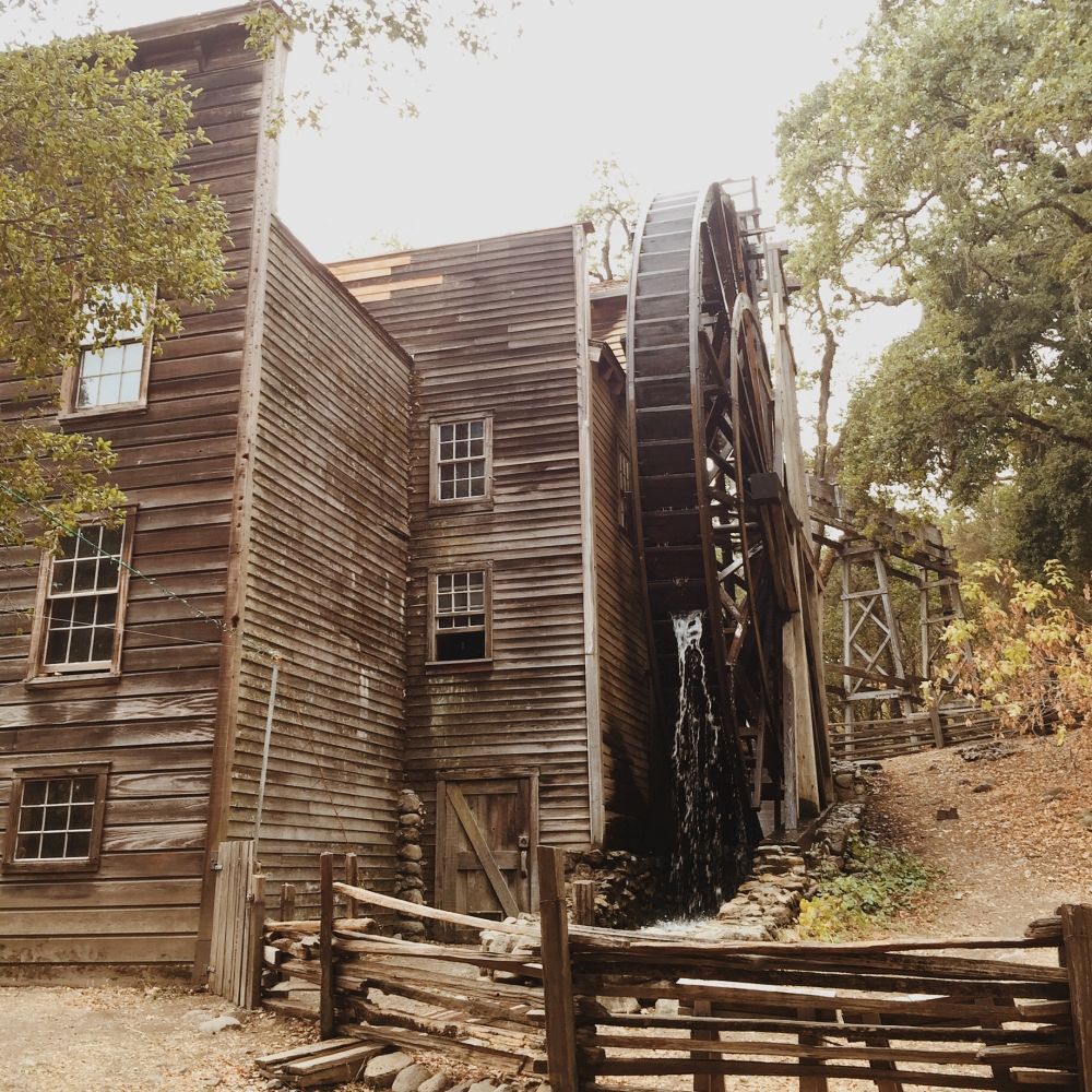 Grist Mill State Park Napa Valley St. Helena