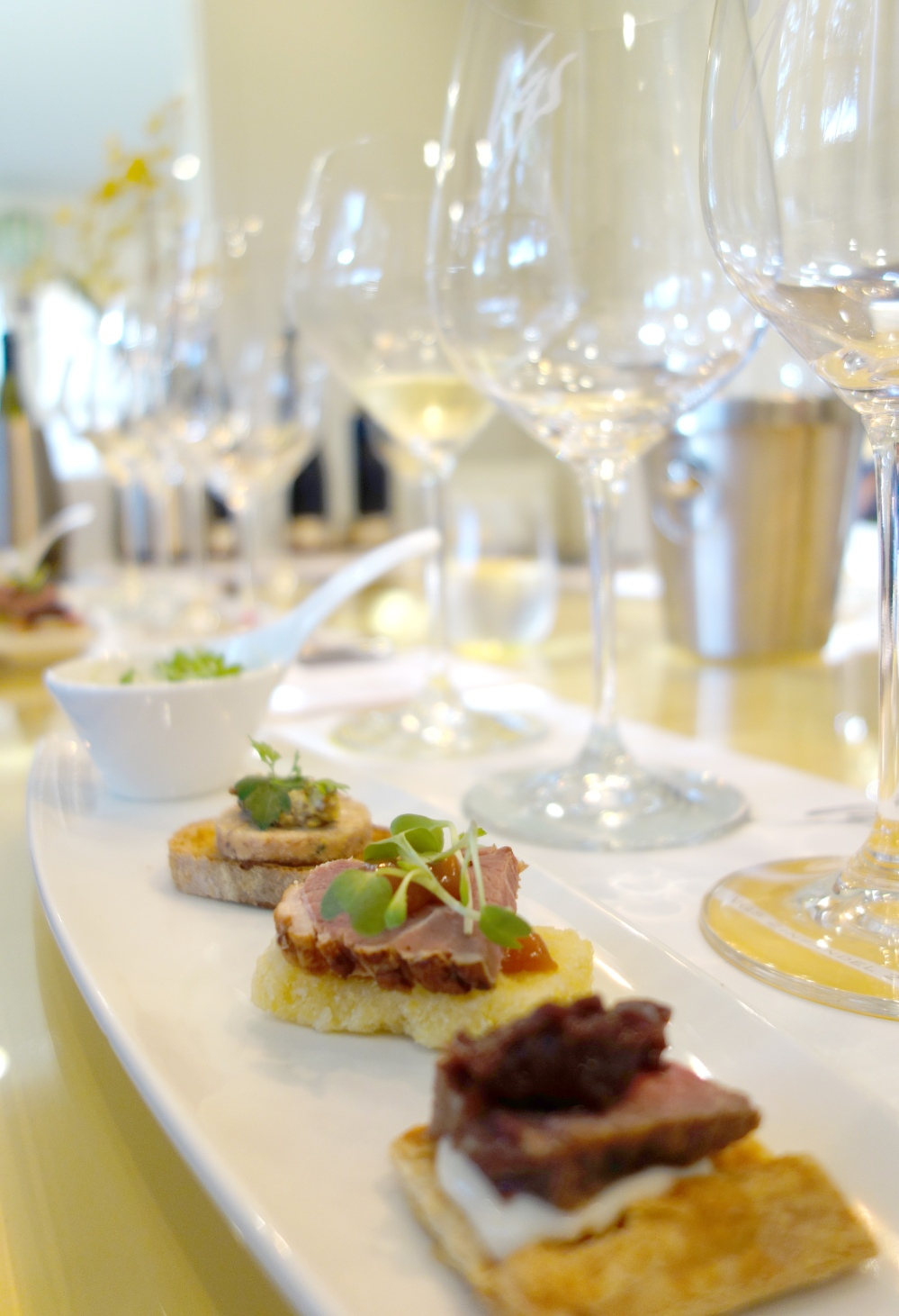 VGS Chateau Potelle Winery and La Toque Food Pairing St. Helena Wine Tasting