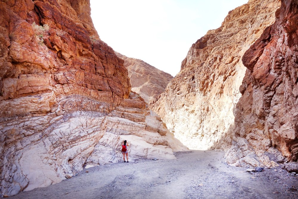 Mosaic Canyon Death Valley California Hiking