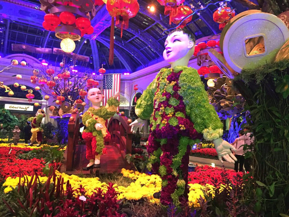 Bellagio Conservatory and Botanical Garden, Las Vegas