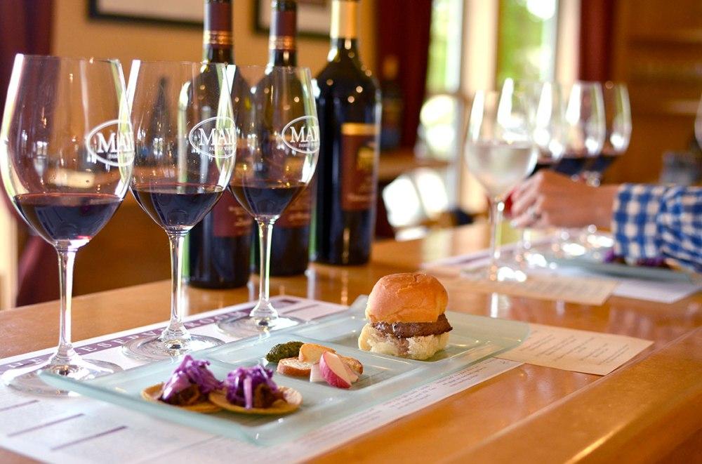 Mayo Reserve Room Wine & Food Pairing