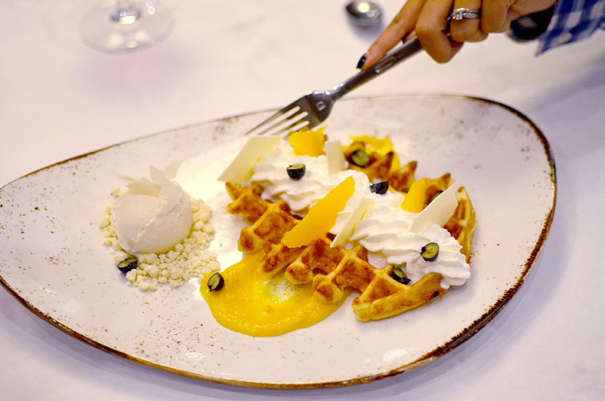 The Lodge at Sonoma Renaissance Resort & Spa Carneros Bistro Waffles