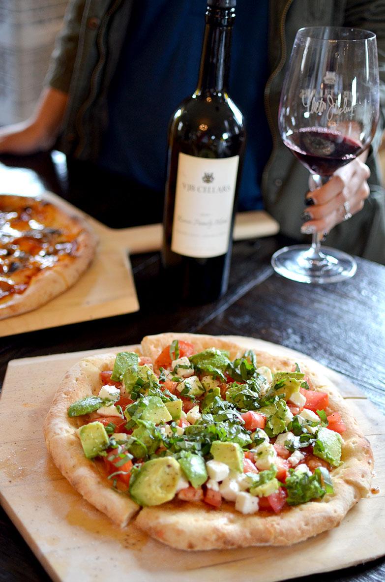 VJB Cellars Pizza