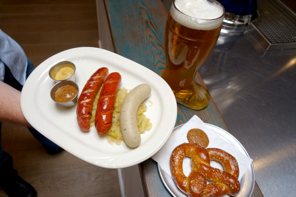 Nasch Austrian Bistro Los Gatos Beer and Pretzels
