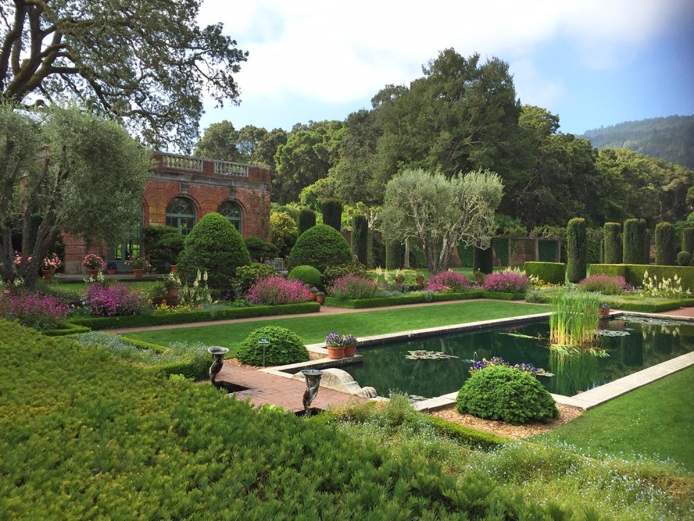 Filoli Sunken Gardens