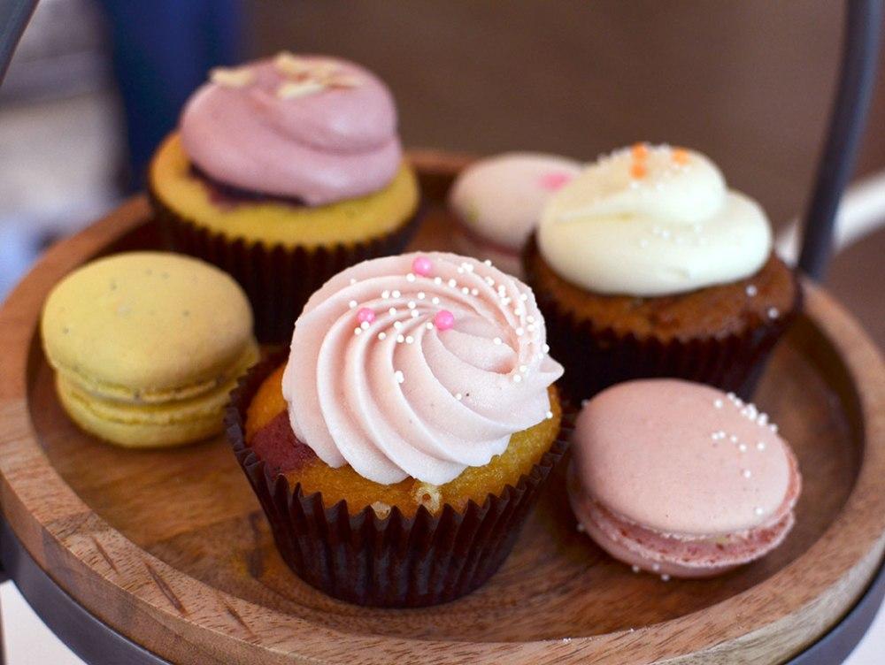 moustache baked goods Healdsburg Cupcakes