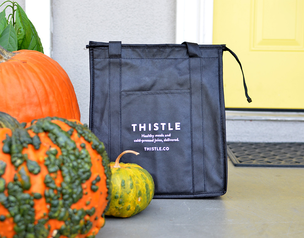 Thistle Review Healthy Meal Delivery Bay Area