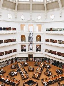 state victoria library melbourne australia