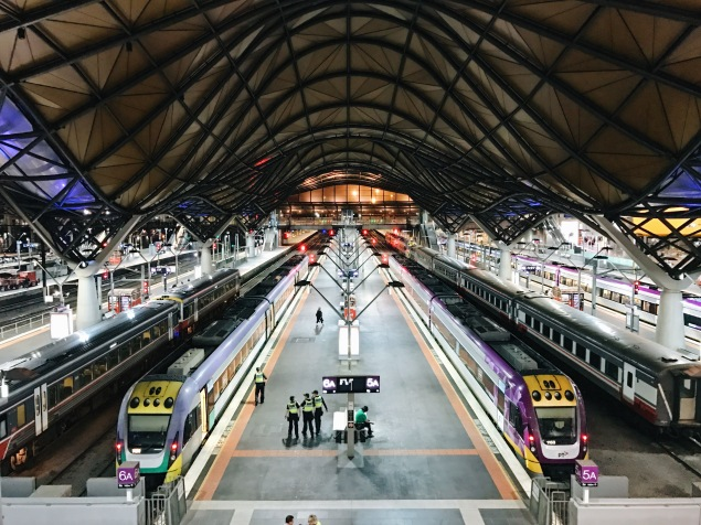 melbourne train station