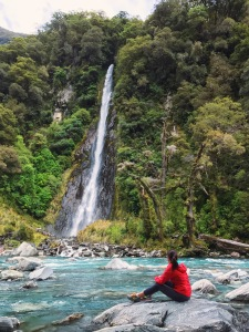 Haast Pass Waterfalls New Zealand