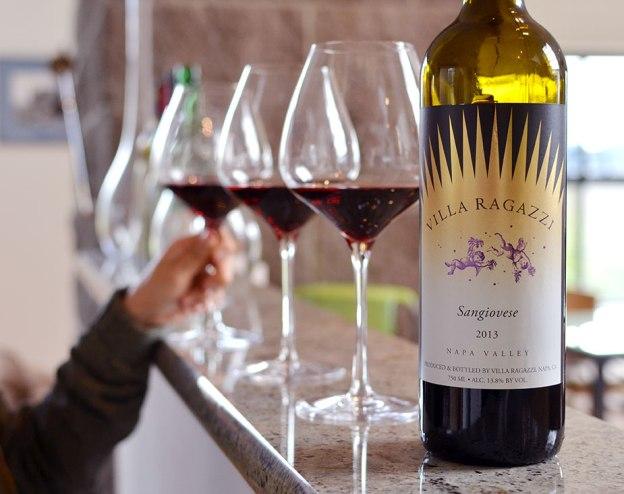 villa ragazzi napa valley winery sangiovese