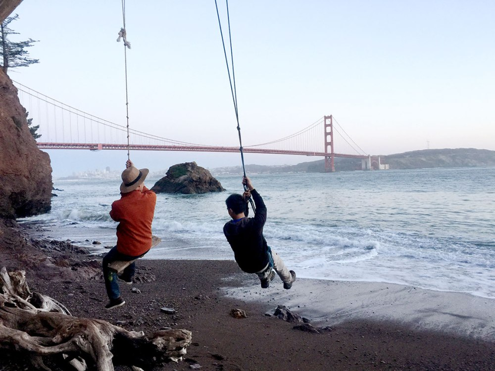 Kirby Cove San Francisco Golden Gate Bridge