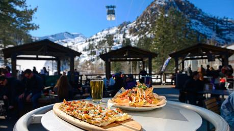 Aprés ski at KT Base Bar Squaw Valley