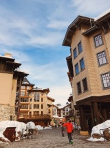 Squaw Valley Village with a variety of shops and restaurants
