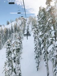 Squaw Valley ski lifts access a variety of terrain