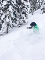 Squaw Valley Powder Skiing