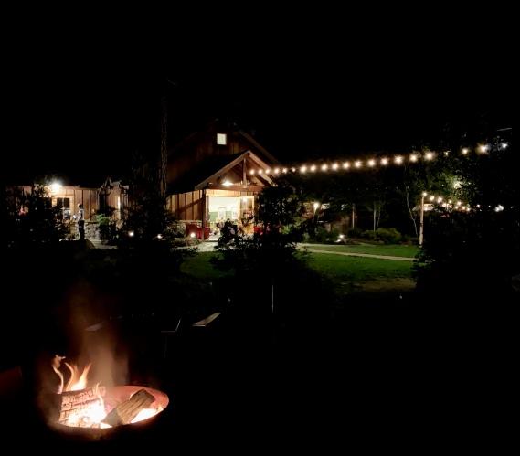 Evergreen Lodge Yosemite firepit outdoors