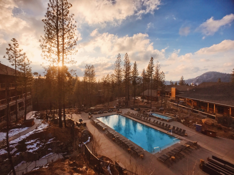 Yosemite Rush Creek Lodge Review Pool