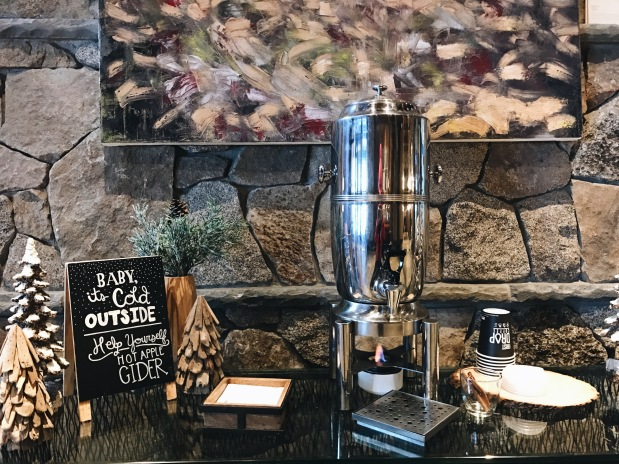 Ritz Carlton Lake Tahoe Hot Apple Cider