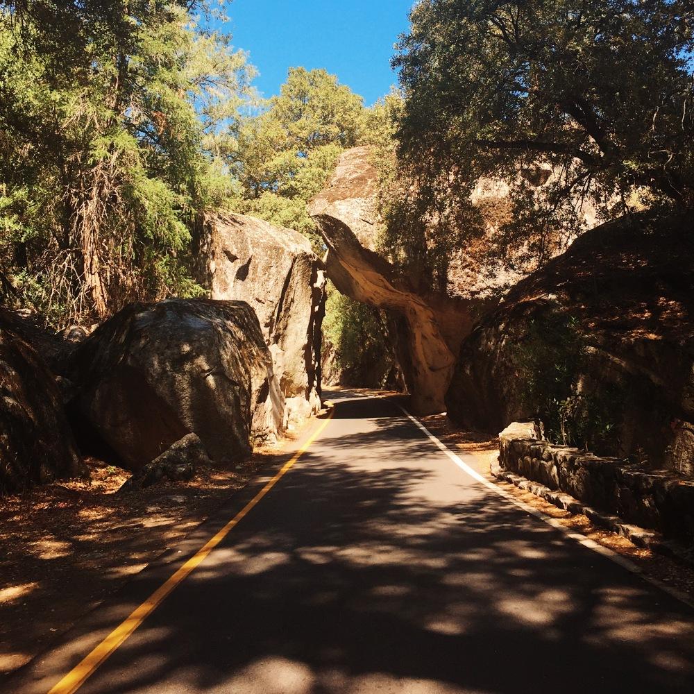 Yosemite Sites Arch Rock Entrance