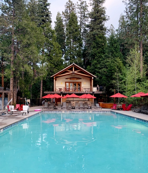 Evergreen Lodge Yosemite pool