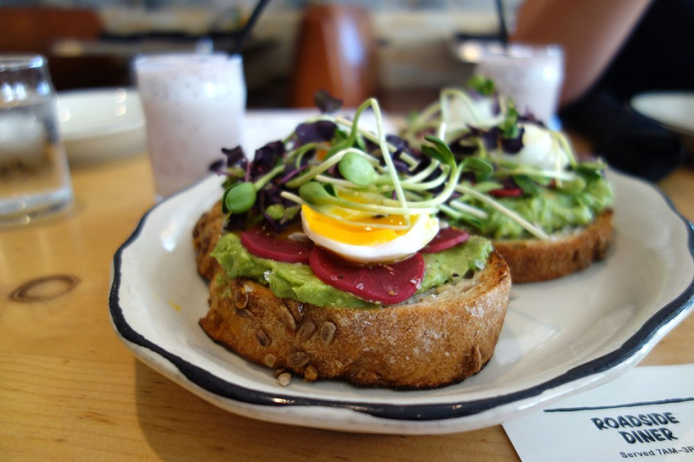 ace hotel avocado toast