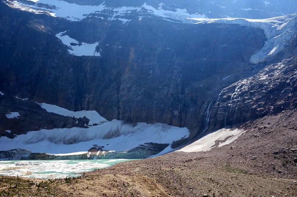 Edith Cavell Glacier, Jasper Alberta Canada