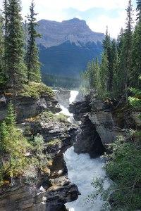 Athbasca falls, Jasper, Alberta, Canada