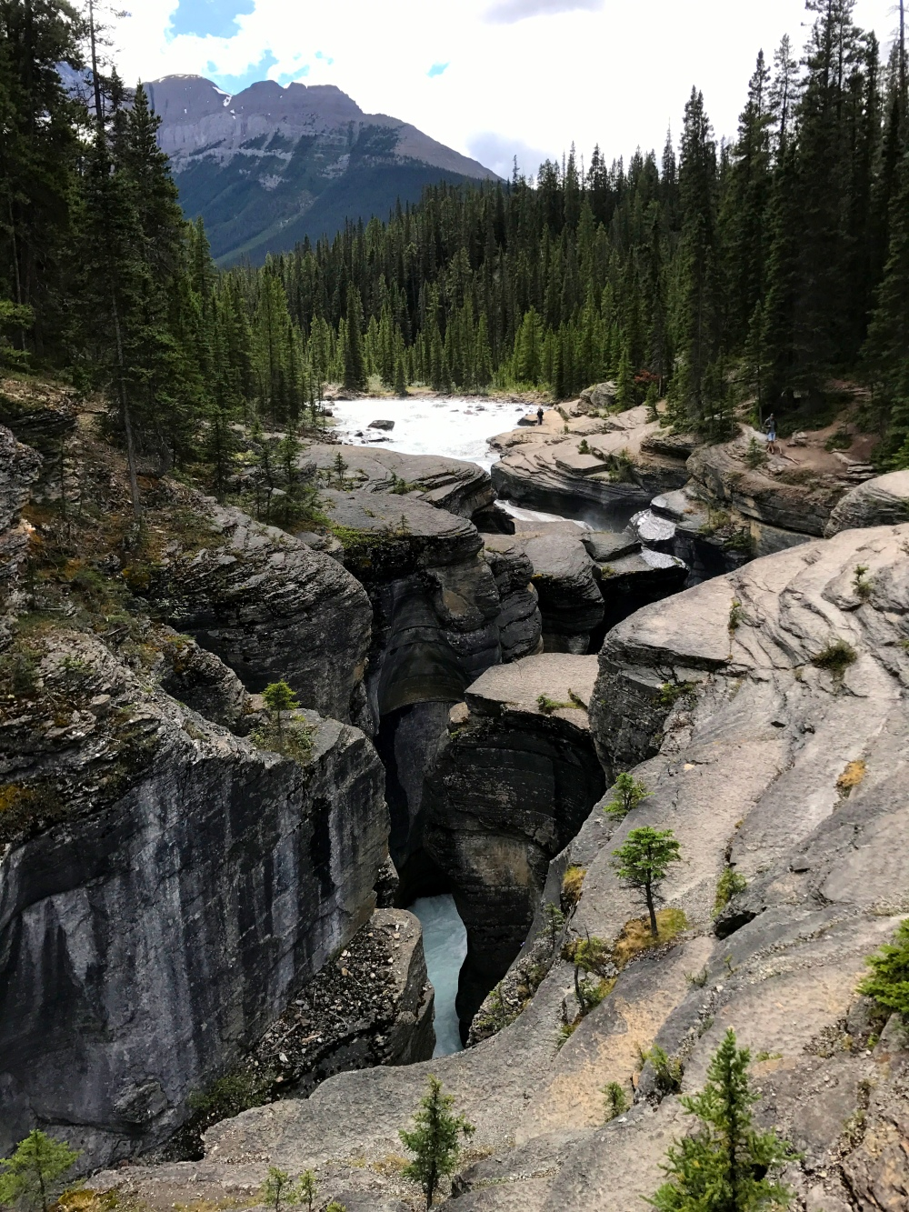 Mistaya Canyon, Banff National Park, Alberta, Canada