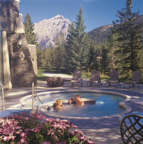 Fairmont Banff Spring Willow Spring Spa