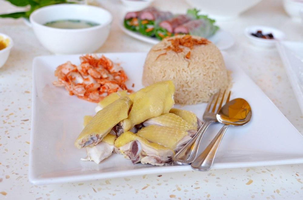 Hai Nam Chicken with Rice Pho Ha Noi San Jose Review