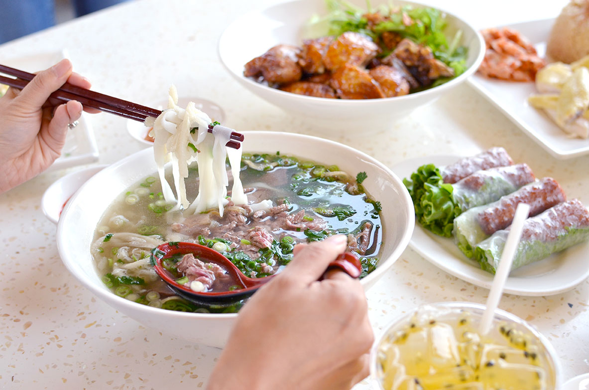 Traditional Northern Style Vietnamese Cuisine at Pho Ha Noi San Jose