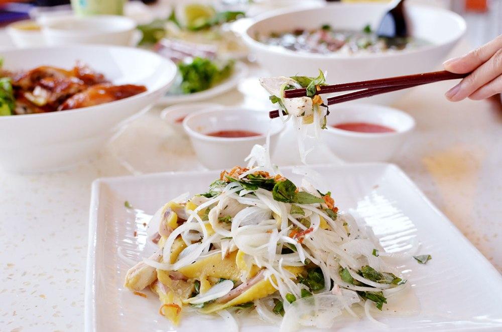 Chicken Salad Pho Ha Noi San Jose