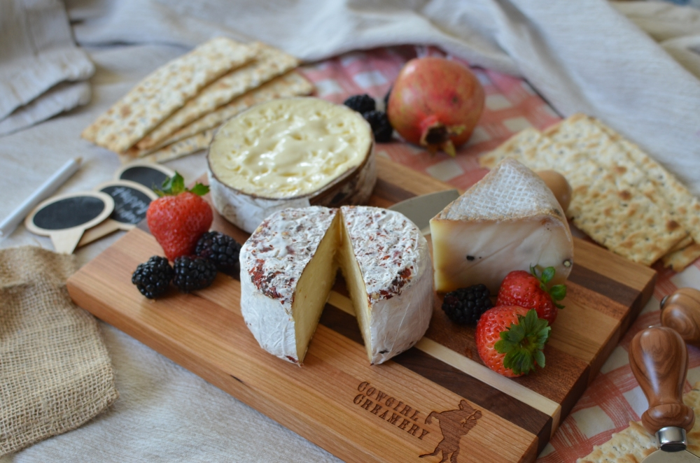 Cowgirl Creamery Cheese Board