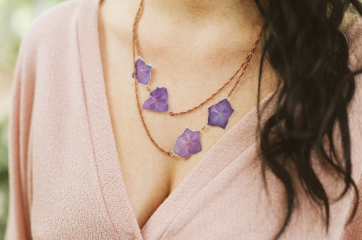 Impressed by Nature Floral Jewelry mother's day gift guide