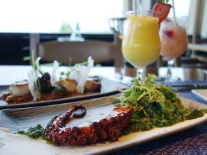 Maui Baby Travel Guide Ritz-Carlton Banyan Tree Food