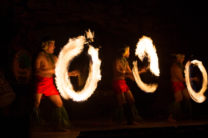 Maui Baby Travel Guide Hyatt Regency Ka'anapali Drums of the Pacific Luau