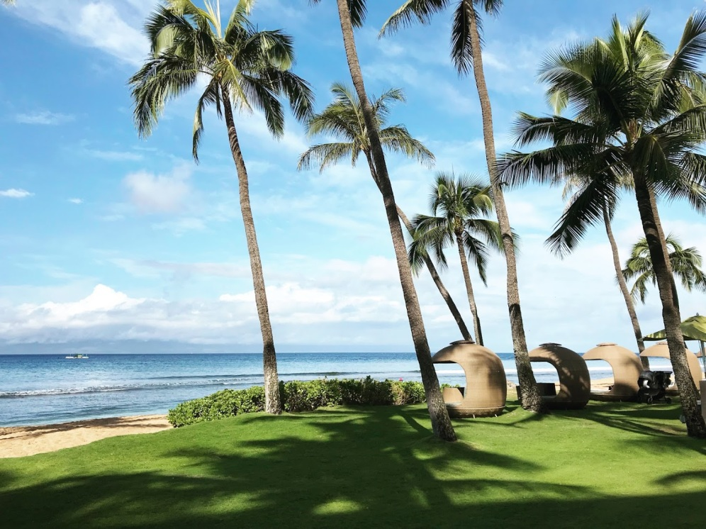Maui Baby Travel Guide Hyatt Regency Ka'anapali Cabana