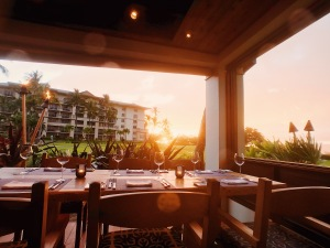 Ritz-Carlton Maui Banyan Tree Sunset