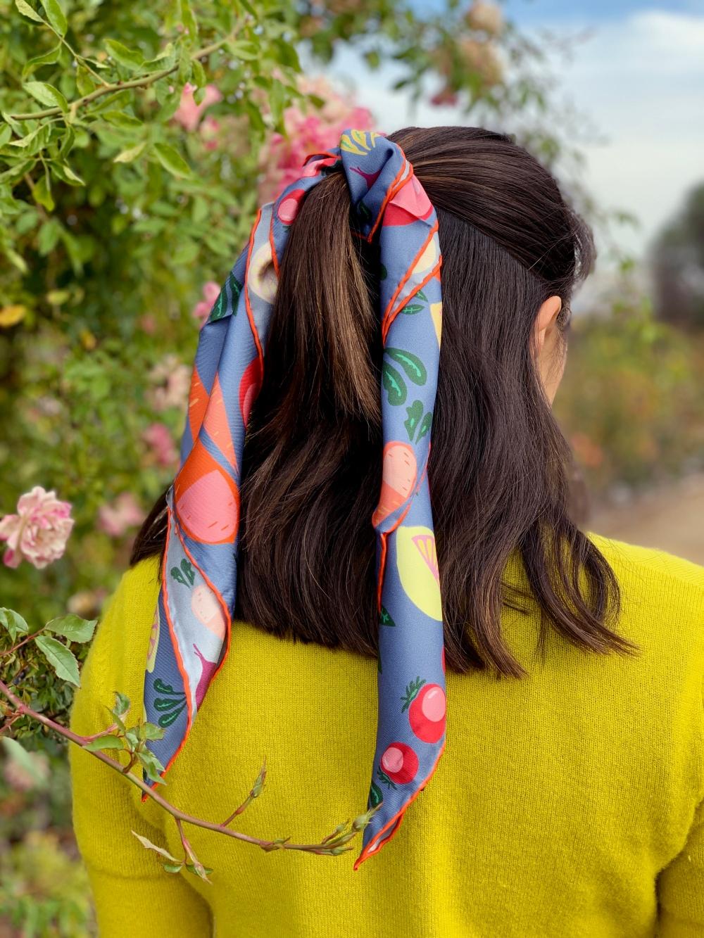 centinelle silk scarf