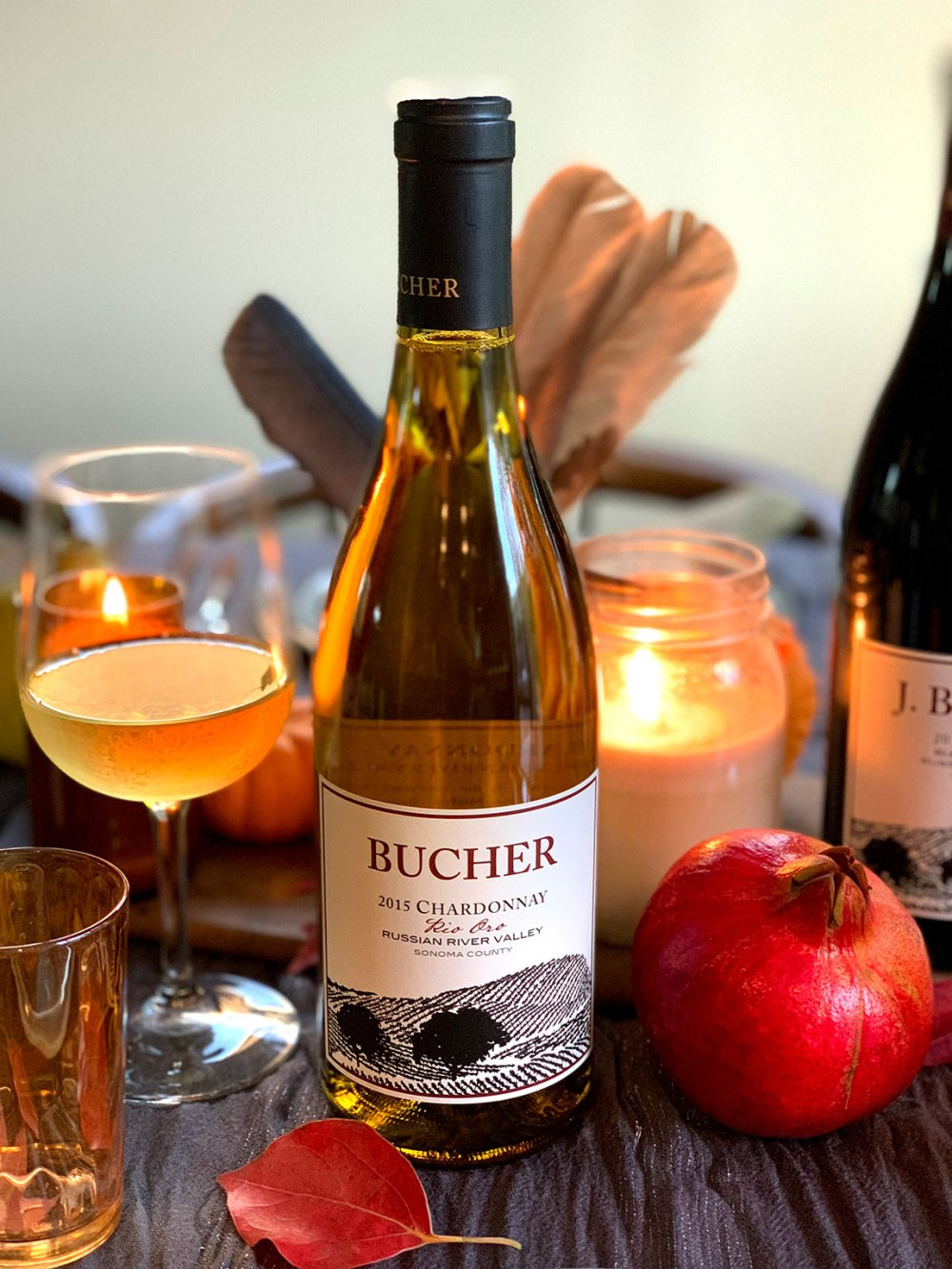 bucher wines windsor california review 2015 Chardonnay