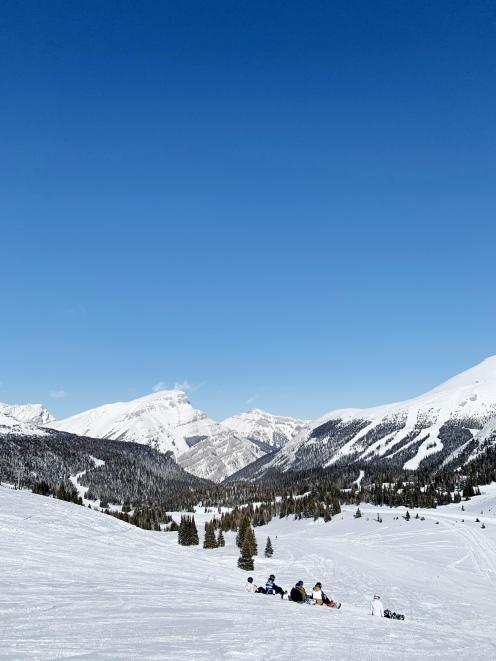 banff sunshine ski resort