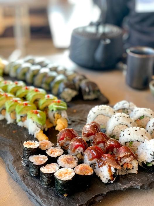 Lake louise ski resort sushi