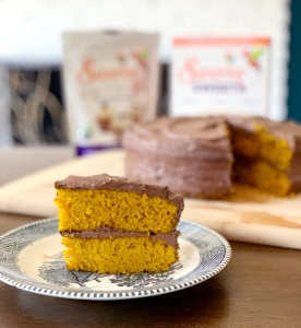 swerve golden cake recipe