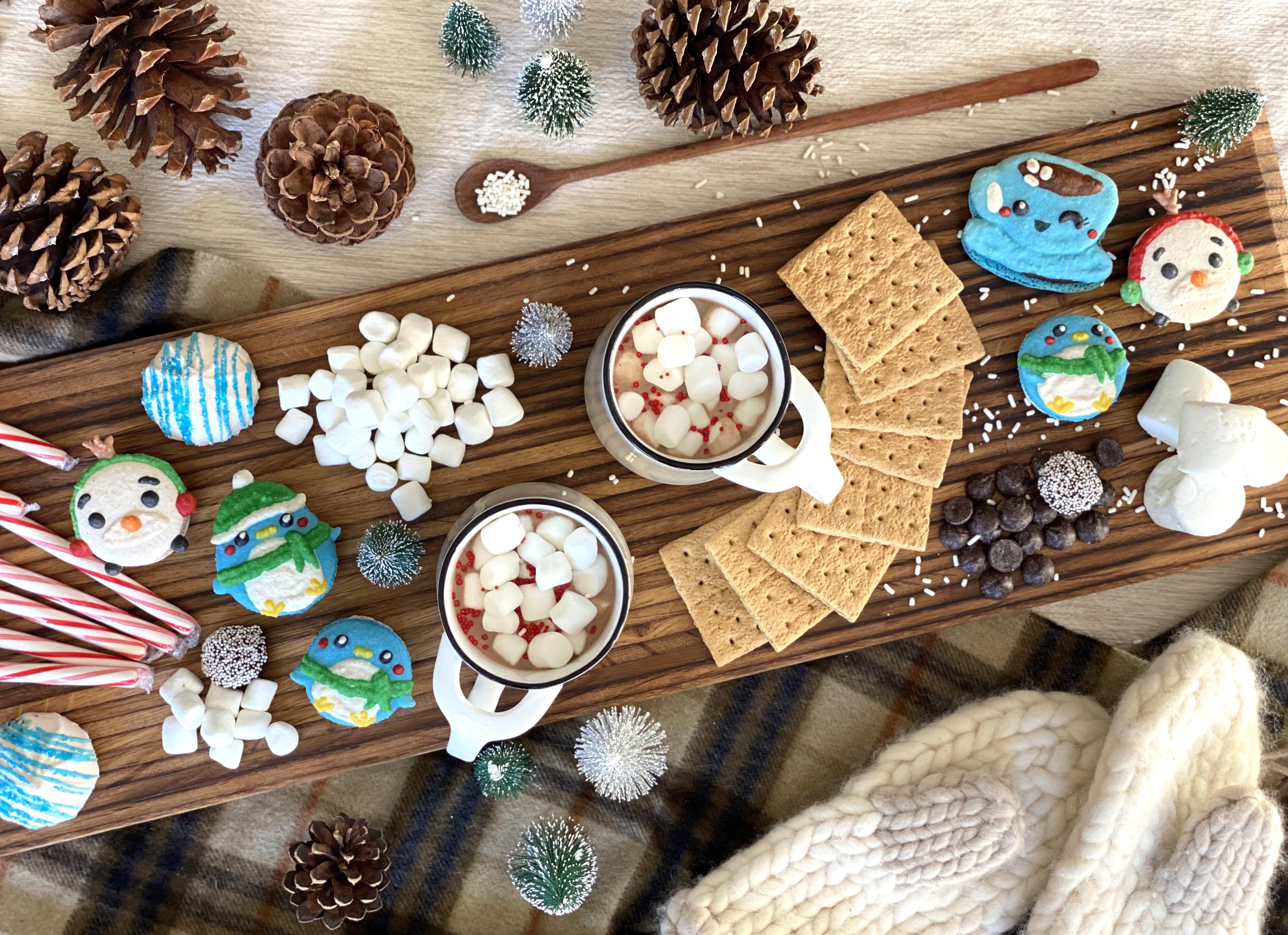sonoma millworks tapas dessert board