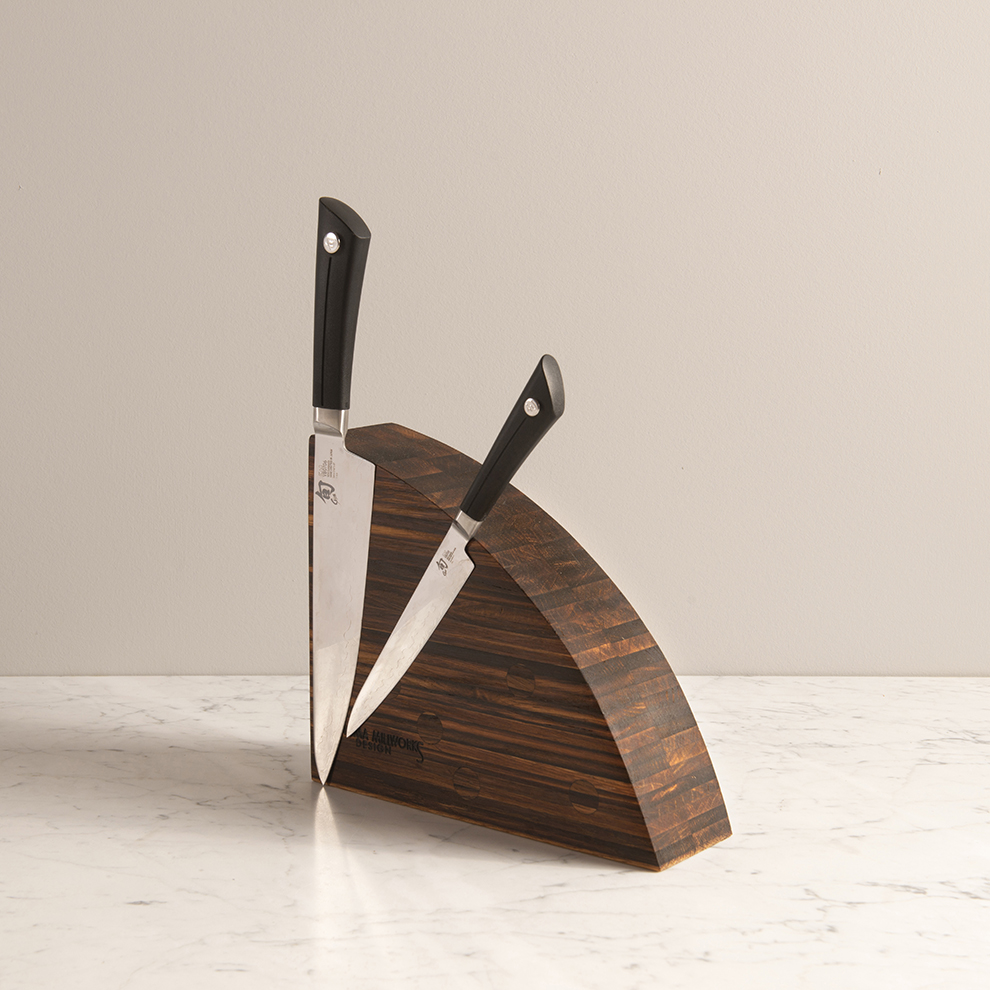 sonoma millworks knife block